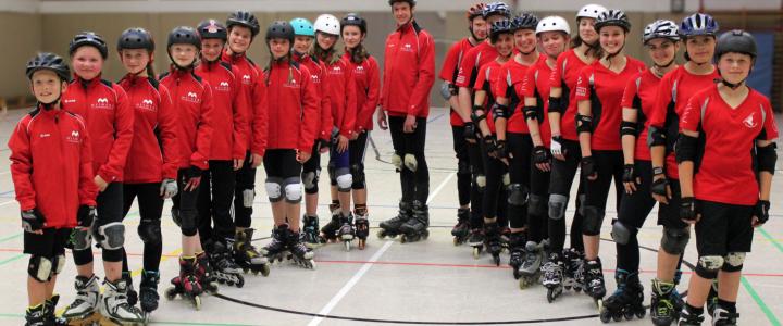Große Freude bei den TV Neuenburg-Skatern